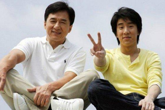 Джеки Чан и его сын