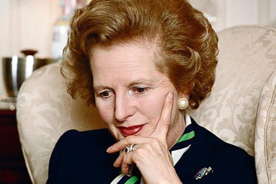 Маргарет Тэтчер - первая женщина-политик в Европе