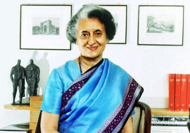 Индира Ганди - первая женщина-политик на Востоке, премьер-министр Индии