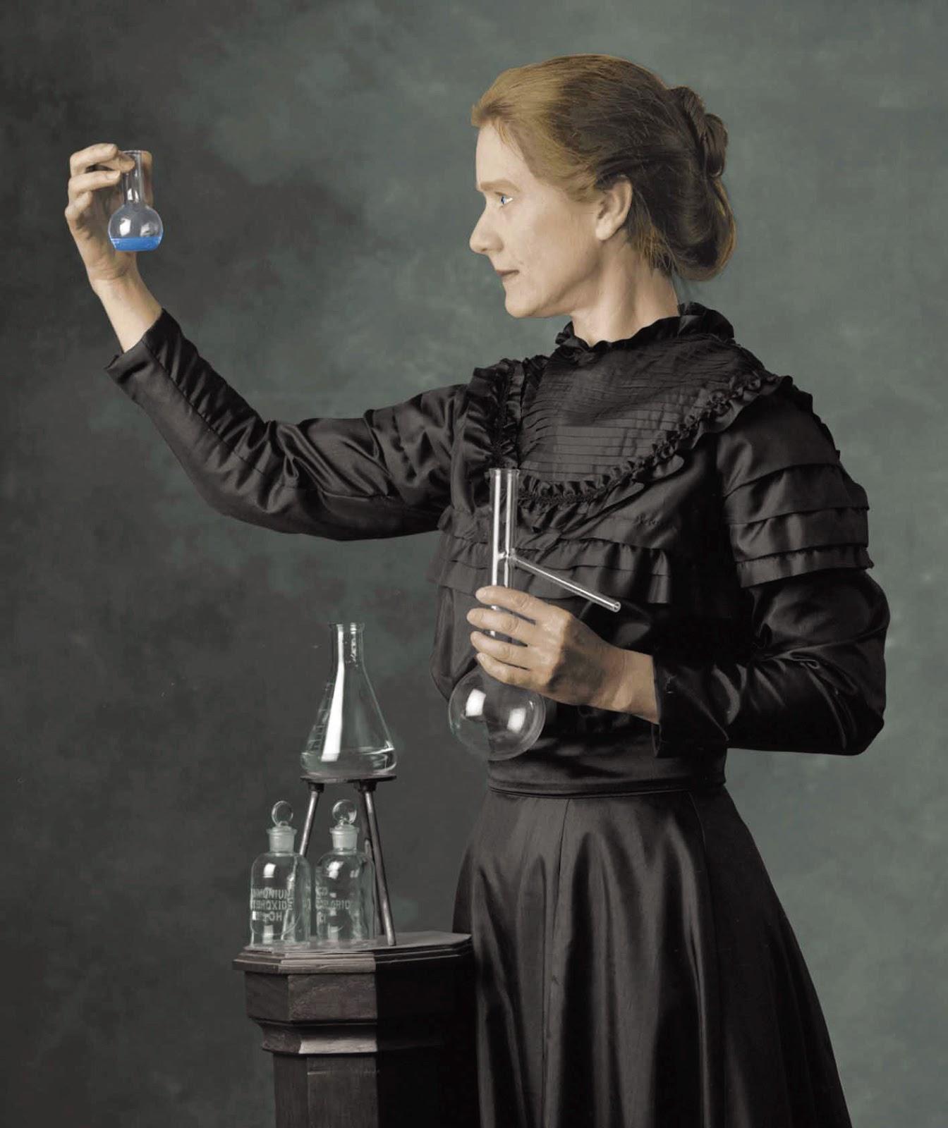 Мария Склодовская-Кюри - первая женщина-Нобелевский лауреат, физик и химик