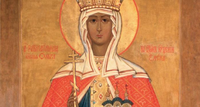 Княгиня киевская Ольга - первая женщина-правительница на Руси