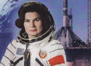 Валентина Терешкова - первая женщина в космосе