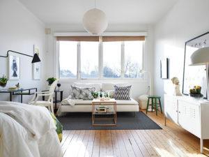 Скандинавский стиль в интерьере - один из самых бюджетных дизайнов квартиры