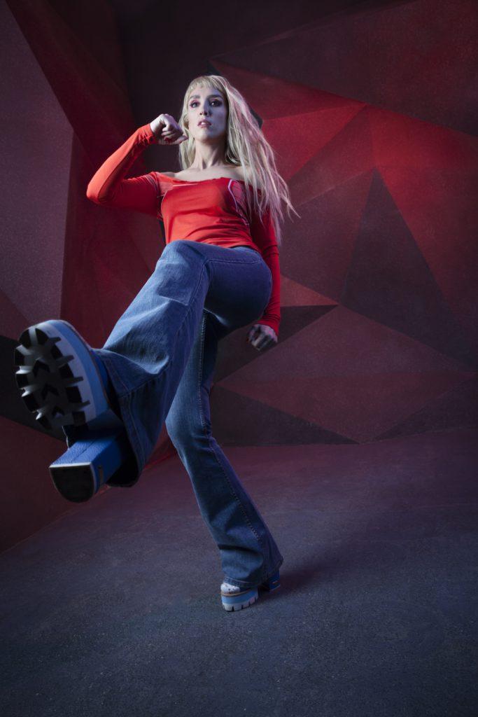 Певица Bojena. Фотограф: Нора Жанэ