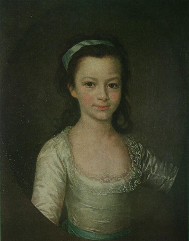 Портрет Екатерина Романовна Дашкова