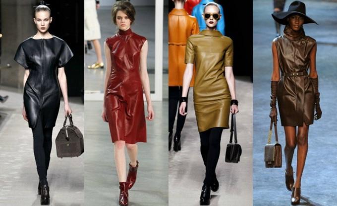 Одежда из натуральной и искусственной кожи