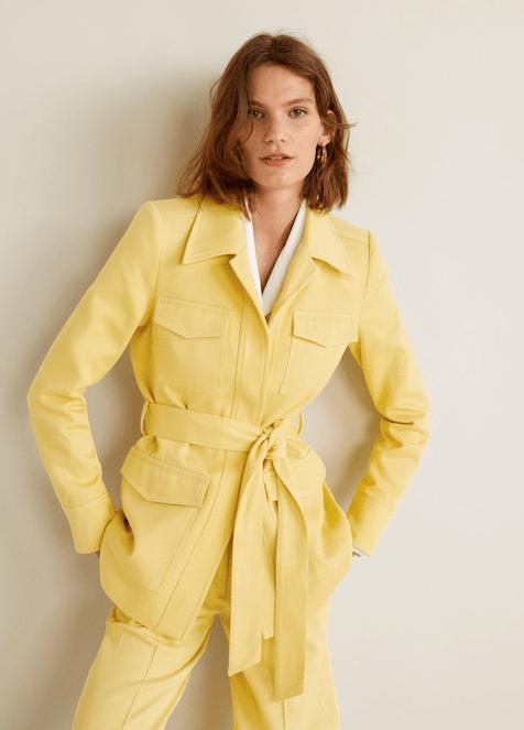 Пиджак из Mango
