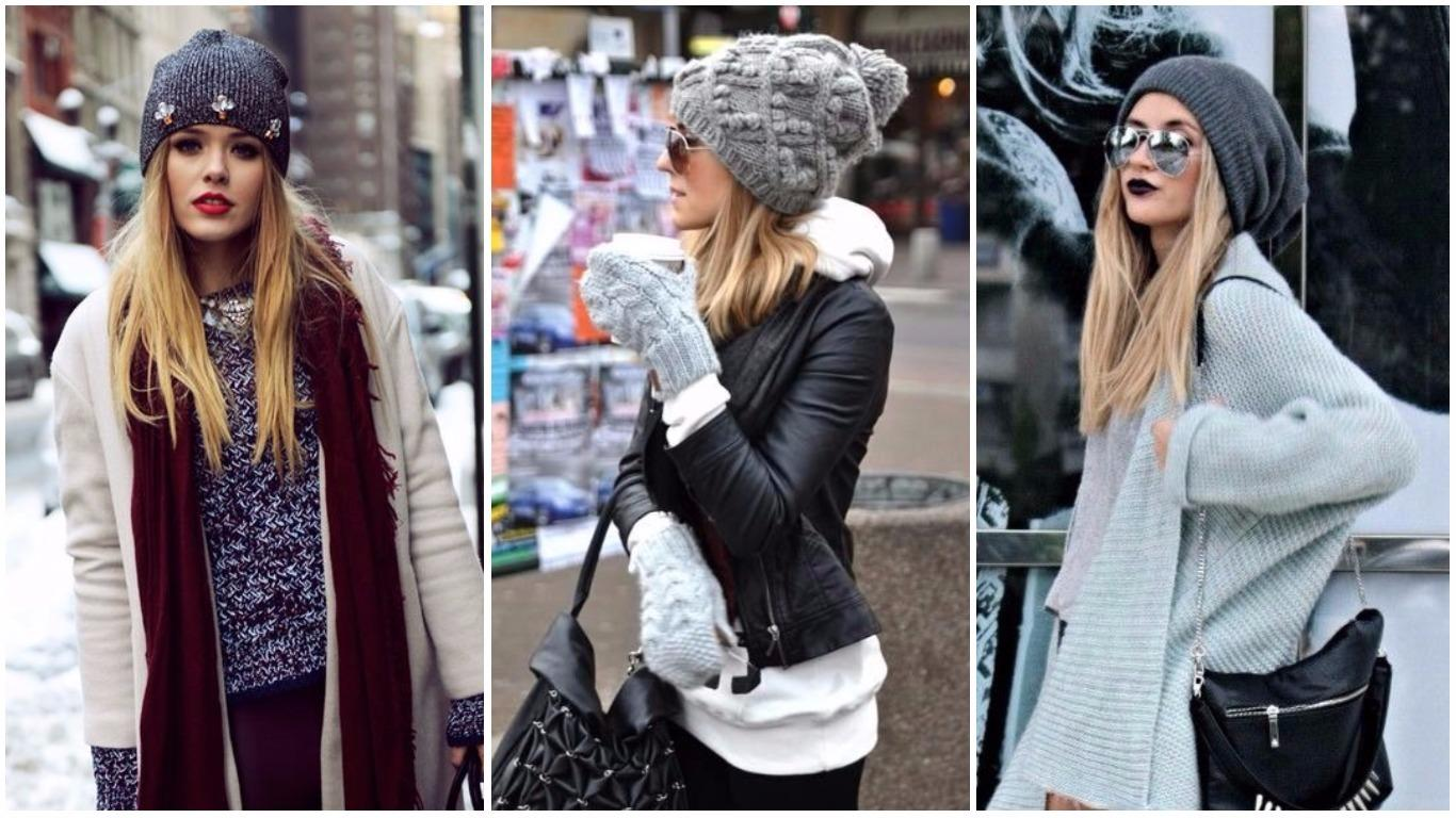 Шапки перчатки для зимы