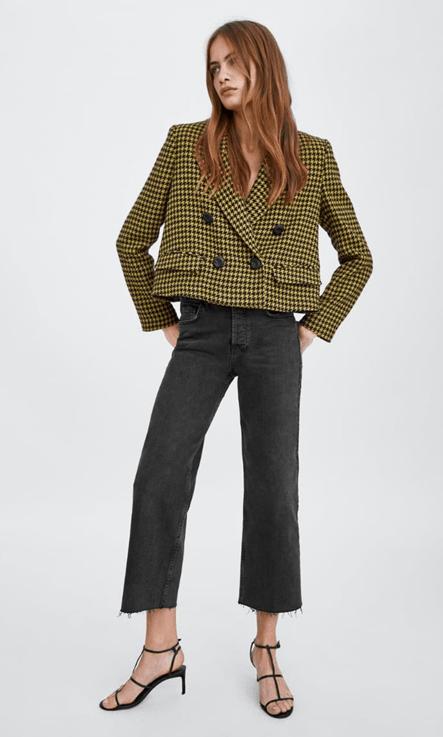 Укороченный пиджачок из Zara