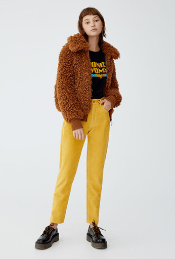Яркие брюки из Pull&Bear