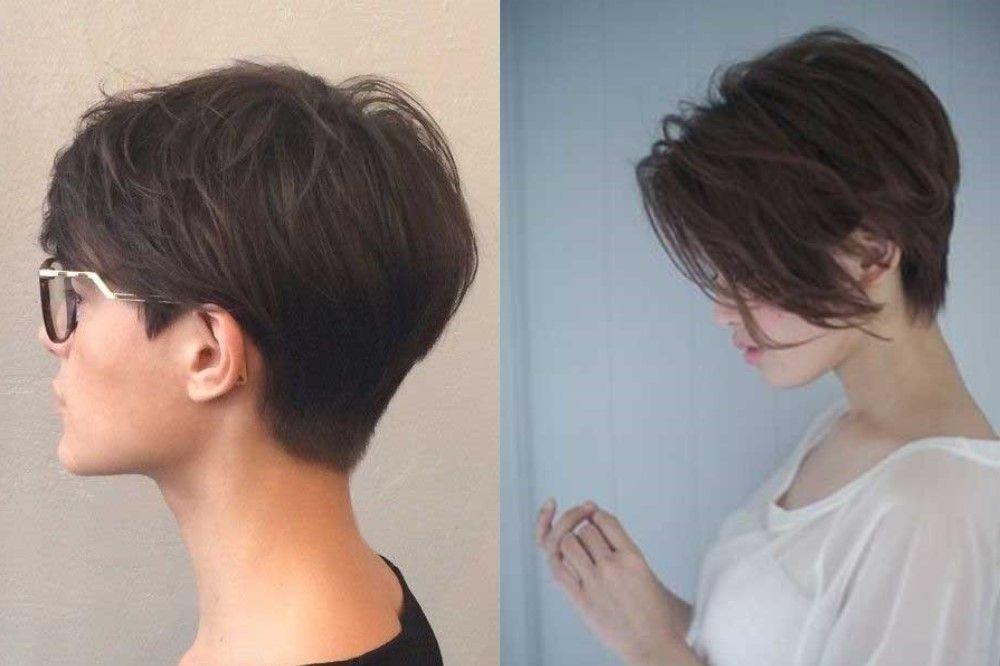 Пикси на прямые короткие волосы