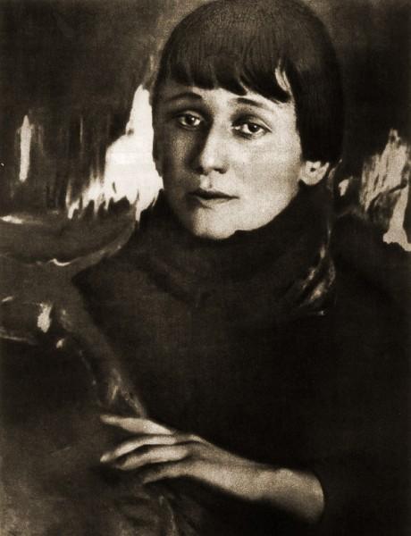Русская поэтесса, писатель, литературовед, переводчик Анна Андреевна Ахматова