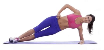 Упражнение боковая стойка
