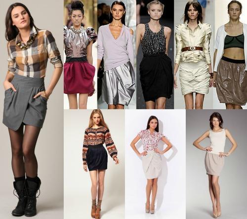 Лучшие модели юбки-тюльпан
