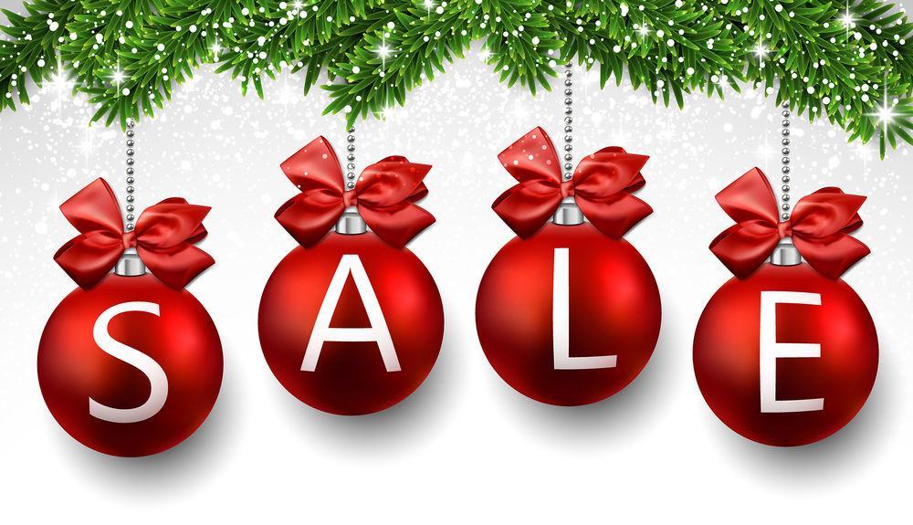 Новогодние распродажи и скидки в магазинах - самая большая выгода перед Новым годом