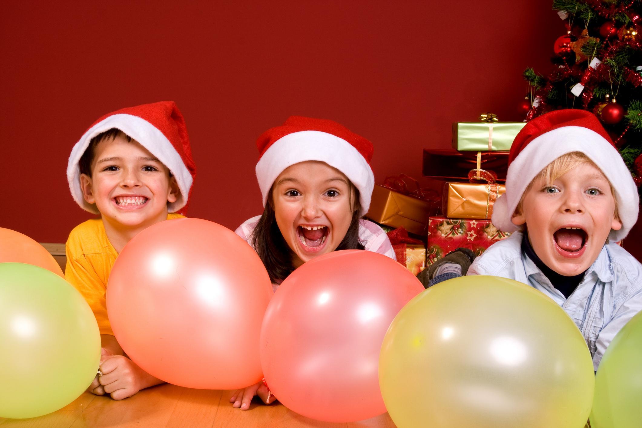 Новогодние детские конкурсы