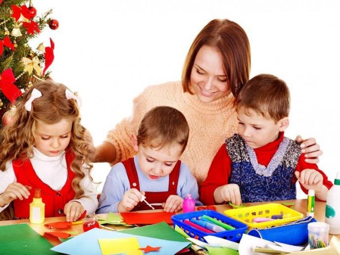 Новогодние игры для детей