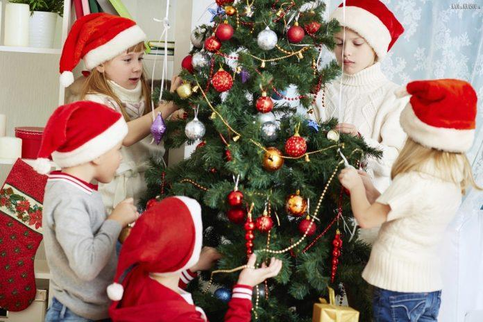 Развлечения вокруг новогодней елки