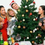 Рождественские игры для компании