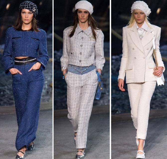 Брючные костюмы Chanel