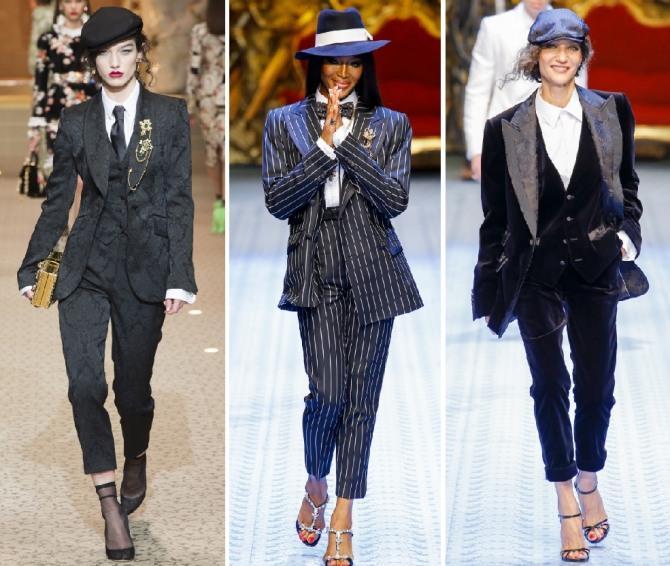 Брючные костюмы Dolce & Gabbana