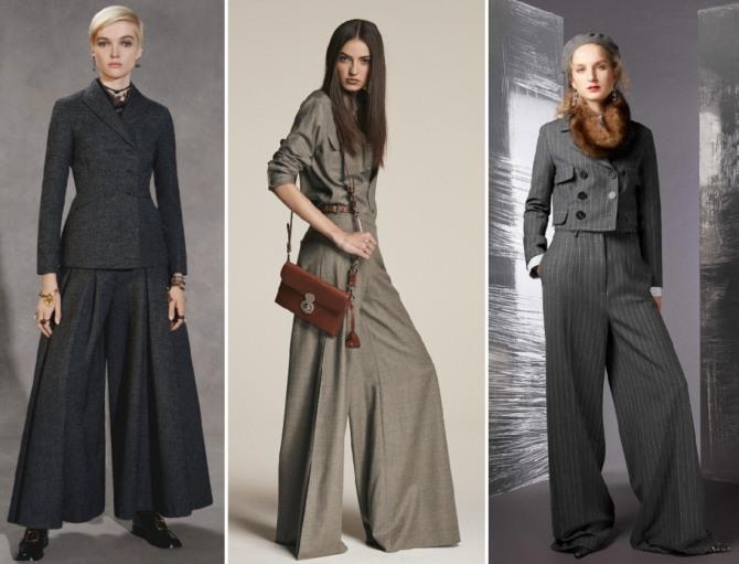 Брючные костюмы Christian Dior, Ralph Lauren, Piazza Sempione