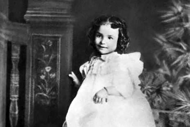 Айседора Дункан в детстве