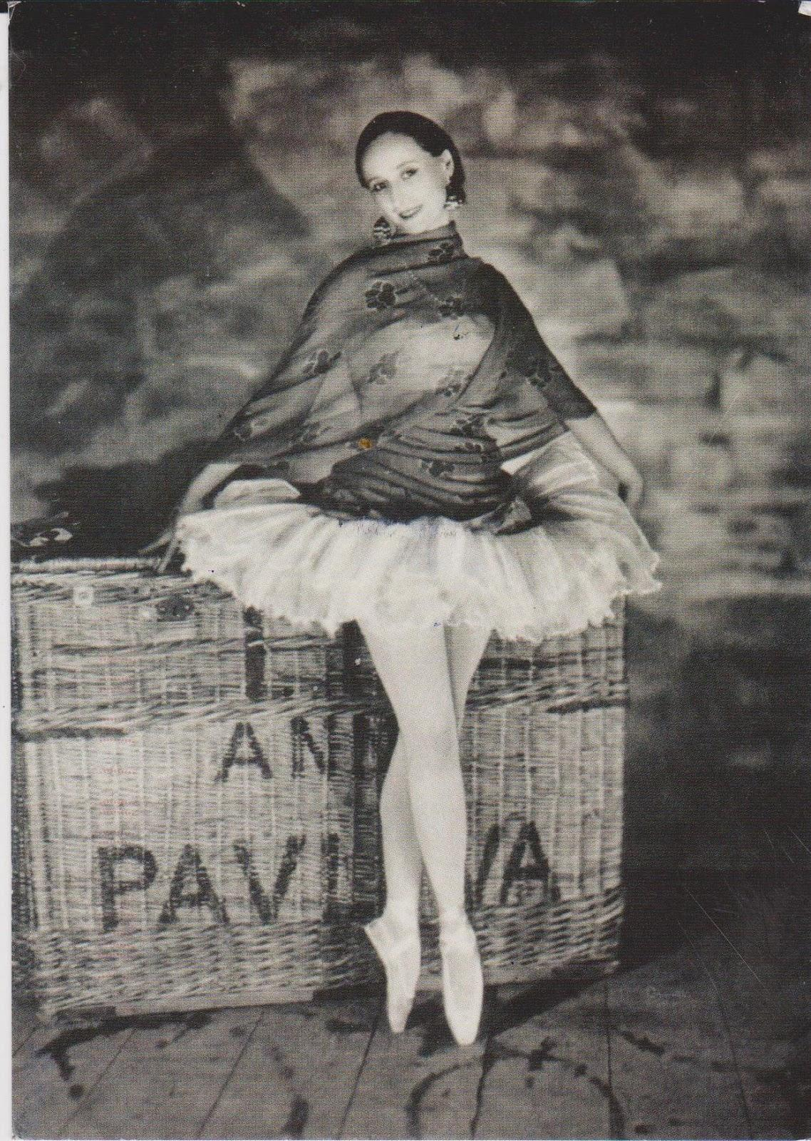 Анна Павлова в школе балета