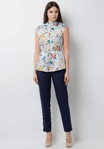 Блузка без рукавов из InCity