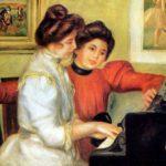 Ивонна и Кристина за фортепиано