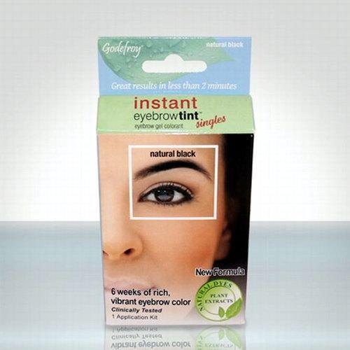 """Профессиональная хна для бровей GODEFROY: """"Eyebrow Tint Natural"""""""