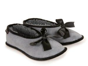 Sheepskin Ballerina Slippers