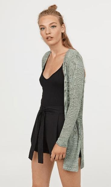 Модель тонкой вязки из H&M