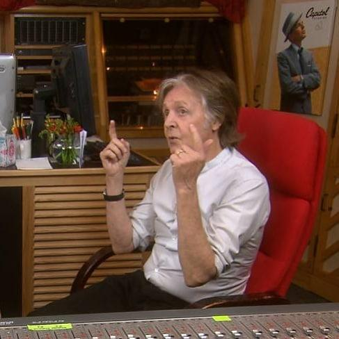 Пол Маккартни в звукозаписи
