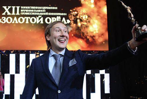 Режиссер Николай Лебедев на церемонии вручения премии Золотой Орел