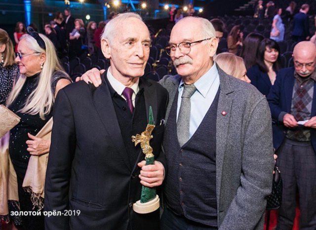 Золотой Орел 2019 - Василий Лановой и Сергей Михалков