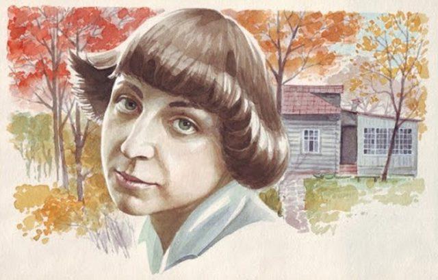 Рисунок Марины Цветаевой