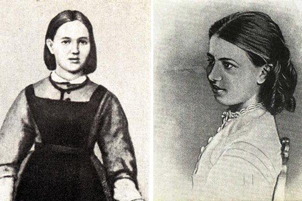 Софья Ковалевская в детстве
