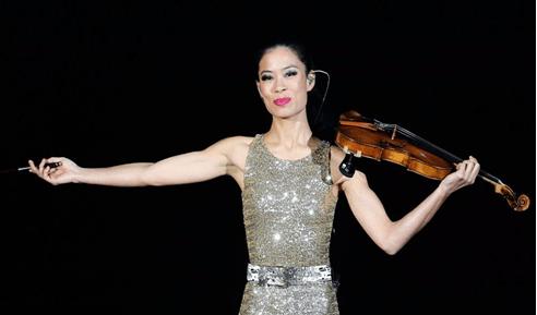 Ванесса Мэй на сцене