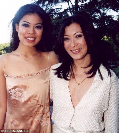 Ванесса Мэй с матерью