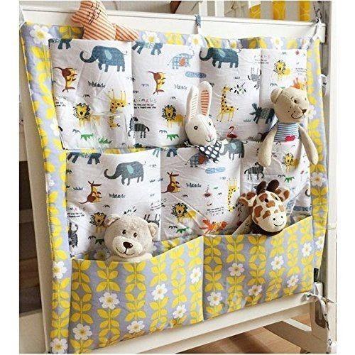 Кармашки на кровать для игрушек или книг