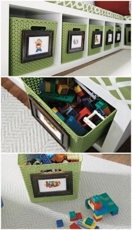 Прозрачные контейнеры для хранения игрушек