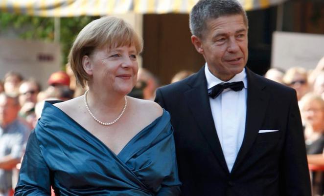 Ангела Меркель и Иоахим Зауэр