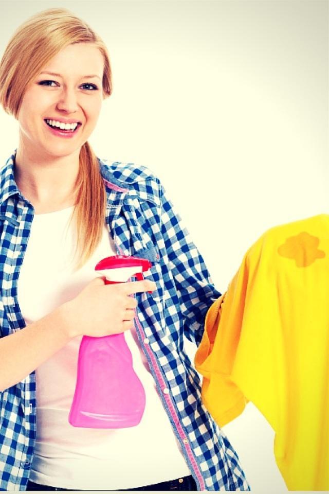 Пятна ржавчины на цветной одежде - как удалить