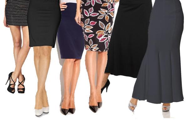 Какова длина юбки правильная для девушки, женщины - модный этикет
