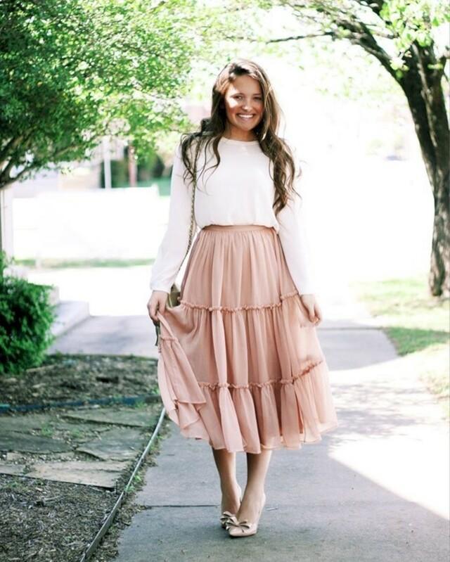 Длина юбки, если ноги полные