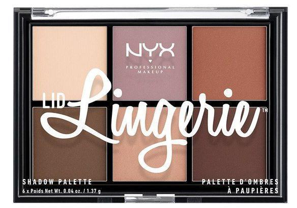 NYX Lid Lingerie Shadow palette 01