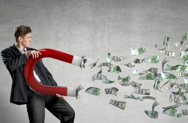 Мысли притягивают деньги