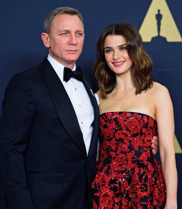 Рэйчел Вайс с мужем1