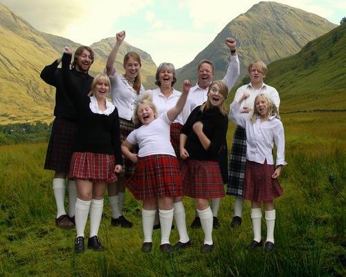 Традиция празднования Дня Рождения в Шотландии
